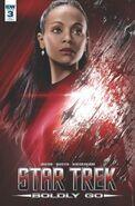 Star Trek Boldly Go, Issue 3 RI-A