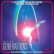 Star Trek Generations Expanded CD