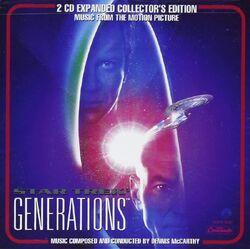 Star Trek Generations Expanded CD