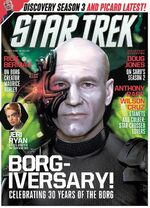 Star Trek Magazine issue 198 cover