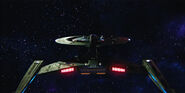 USS Discovery, aft