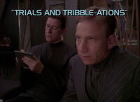 5x06 Trials and Tribble-ations title card