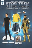 Star Trek Boldly Go, Issue 2 RI-B