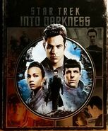 Star Trek Into Darkness 1-disc Blu-ray Region A-B Exclusive Embossed Metalpak cover