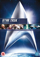 Star Trek Nemesis 2010 DVD cover Region 2