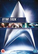 Star Trek Nemesis 2010 DVD cover Region 2