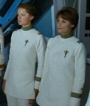 Starfleet nursing attire, 2285