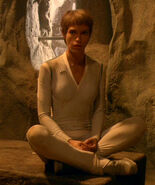 T'Pol's casual uniform, white