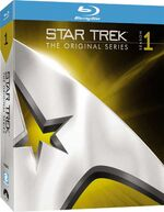 TOS Season 1 Blu-ray cover