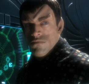 Valdore, a Romulan male in 2154