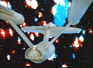 Zetarians engulf the Enterprise