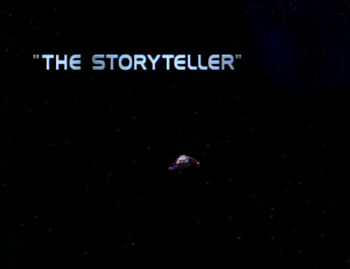 The Storyteller title card