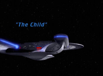 The Child title card