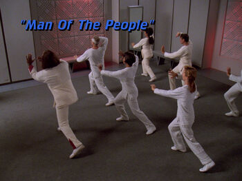 Man of the People title card