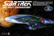 AMT-Platz Model kit GDS8137 USS Enterprise-C 2010