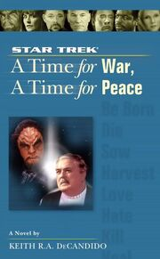 A Time for War A Time for Peace cover
