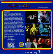 Back cover Star Trek The Motion Picture, Super 8 (German)