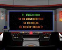 DVD-Menü TOS Staffel 3 Disc 1