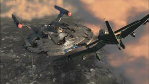 Enterprise NX-01 Battle of New York City