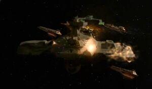 Klingon civilian transport