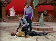 McCoy stellt Kirks Tod fest