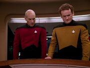 O'Brien als taktischer Offizier