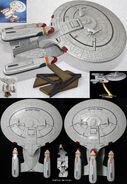 Playmates USS Enterprise-D AGT