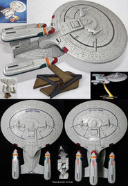 Playmates USS Enterprise-D AGT
