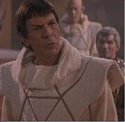 Spock en tenue vulcaine (2285)