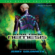 Star Trek Nemesis expanded soundtrack cover