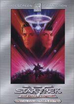 Star Trek V The Final Frontier Special Edition DVD cover-Region 1