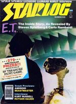 Starlog issue 063 cover