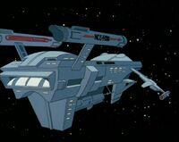 USS Huron aft
