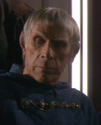 ...as the Vulcan priest.