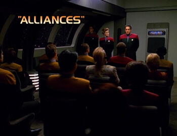 Alliances title card