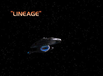 Lineage title card