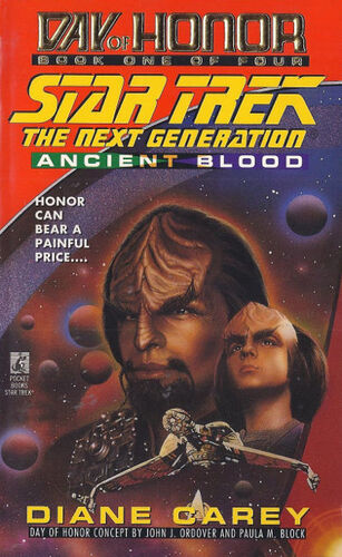 Cover of book 1, <i>Ancient Blood</i>