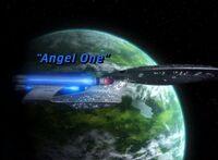 Angel One - scena tytułowa