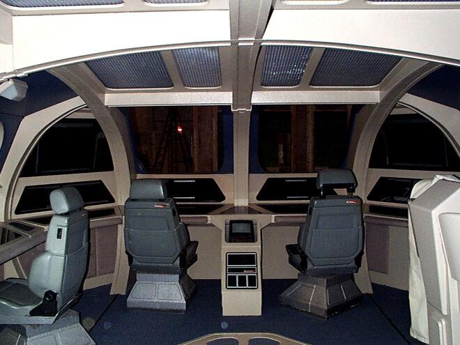 Cockpit des Runabout Sets