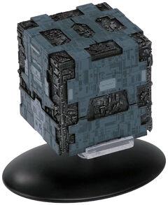 Eaglemoss 58 Borg Tactical Cube