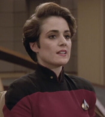 ...as Ensign Felton