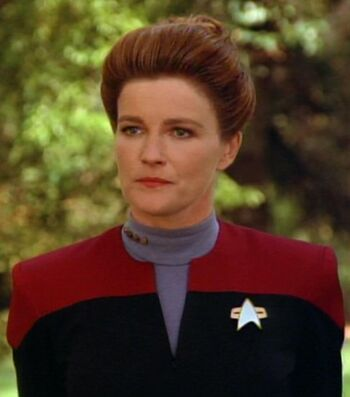 "<a href=""/wiki/Captain_(rank)"" title=""Captain (rank)"">Captain</a> Kathryn Janeway (<a href=""/wiki/2371"" title=""2371"">2371</a>)"