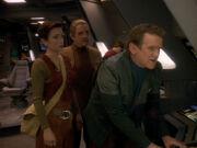 Kommunikation zur Sternenflotte bricht ab