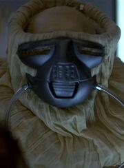 Maskiertes Mitglied des Konzils