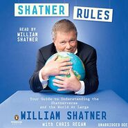 Shatner Rules audiobook cover