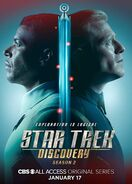 Star Trek Discovery Season 2 Hugh Culber and Paul Stamets poster
