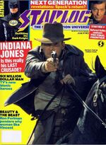 Starlog issue 143 cover