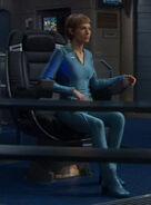 T'Pol's casual uniform, blue