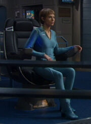 T'Pol's casual uniform, blue