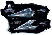 Tholian starship concept art
